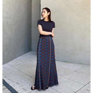 トゥデイフル(TODAYFUL)の新品 todayful Geometric Piping Skirt スカート(ロングスカート)