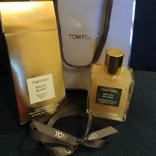 トムフォード(TOM FORD)の新品未使用トムフォード ソレイユ ブラン シマリング ボディオイル 01ゴールド(ボディオイル)