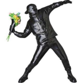 メディコムトイ(MEDICOM TOY)のバンクシー フラワーボンバー 彫刻 Medicom Toy x Sync(彫刻/オブジェ)