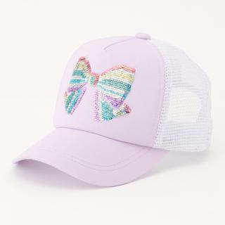 エニィファム(anyFAM)のミラクルスパンコール メッシュキャップ(帽子)