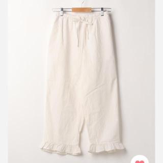 SM2 - SM2 🌺裾フリルパンツ【リンネル】