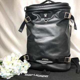 Saint Laurent - 美品★ サンローランパリ バックパック 黒 レザー