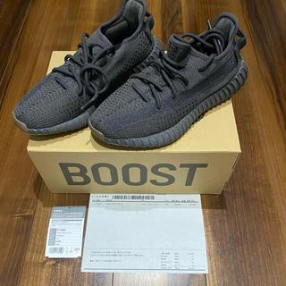 アディダス(adidas)の【ほぼ新品】adidas Yeezy Boost 350 V2 BLACK(スニーカー)