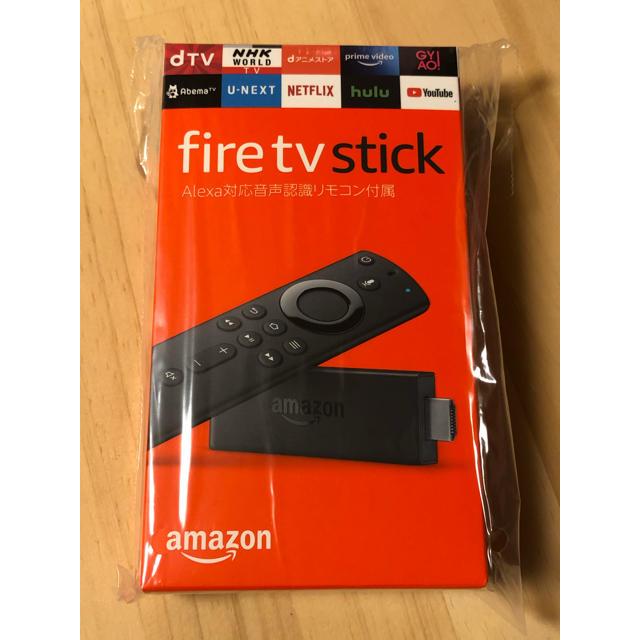 新品 Amazon fire tv stick スマホ/家電/カメラのテレビ/映像機器(映像用ケーブル)の商品写真