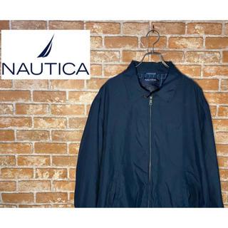ノーティカ(NAUTICA)のノーティカ スウィングトップ ワンポイント刺繍ロゴ ポリエステル100%(ブルゾン)