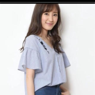 Rirandture - 新品タグ付 Rirandture 刺繍ブラウス