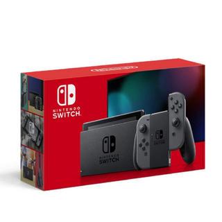 Nintendo Switch - Nintendo Switch 新品 任天堂スイッチ 本体 グレー ニンテンドウ