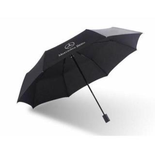 ③BENZ高品質☆紳士用/折りたたみ傘/黒(非売品)アンブレラ/新品(傘)