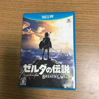 任天堂 - ゼルダの伝説 ブレスオブザワイルド Wii U 中古品