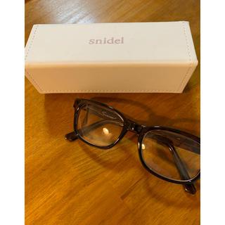 スナイデル(snidel)のスナイデル snidel メガネ 伊達眼鏡(サングラス/メガネ)