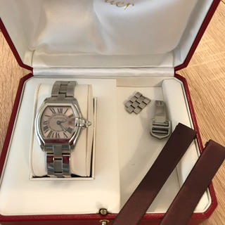 Cartier - カルティエ ロードスター ピンク 腕時計