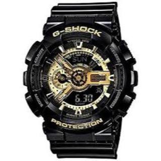 ジーショック(G-SHOCK)の新品未使用 CASIO カシオ GA-110GB-1A ゴールド×ブラック腕時計(腕時計(デジタル))