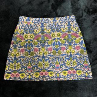 エイチアンドエム(H&M)の【新品未使用】H&M ❁⃘ 花柄台形スカート(ひざ丈スカート)