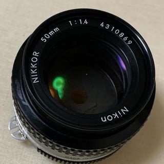ニコン(Nikon)のNikon Ai 50mm F1.4 レンズ(レンズ(単焦点))