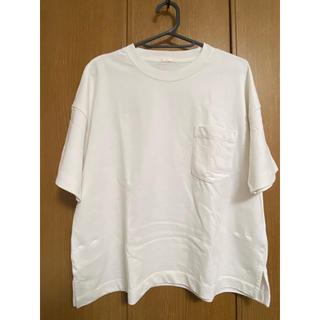 GU - ポケット付きビックTシャツ