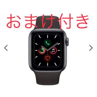 アップルウォッチ(Apple Watch)のApple watch series5(腕時計(デジタル))