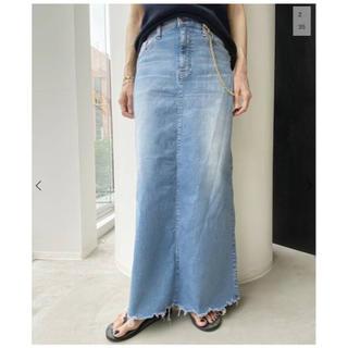 アパルトモンドゥーズィエムクラス(L'Appartement DEUXIEME CLASSE)の⭐️新品未使用タグ付き⭐️ GOOD GRIEF/DENIM LONG スカート(ロングスカート)