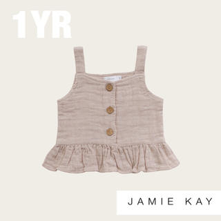 キャラメルベビー&チャイルド(Caramel baby&child )の【Jamie Kay】ジェイミーケイ オーガニックコットン キャミソール(タンクトップ/キャミソール)