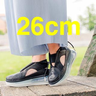 ナイキ(NIKE)の26cm【新品】Nike W Air Max FF720 Black サンダル(サンダル)