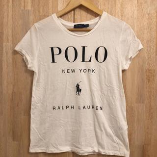 POLO RALPH LAUREN - Tシャツ ポロラルフローレン 白 ポニー ロゴ