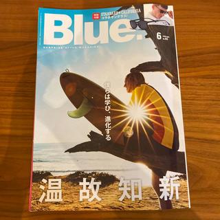 ロンハーマン(Ron Herman)のBlue.6月号(趣味/スポーツ)