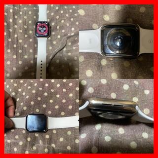 アップルウォッチ(Apple Watch)のアップルケア付き!美品! Apple Watch series4ステンレス44 (腕時計(デジタル))