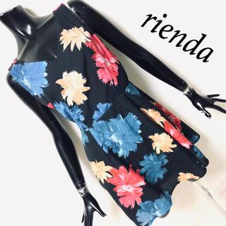 rienda - rienda*フラワーワンピース