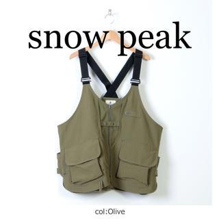 スノーピーク(Snow Peak)の新品 スノーピーク 焚火ベスト オリーブ(その他)