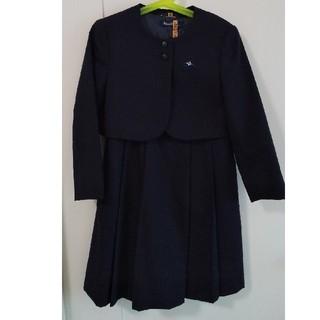 ファミリア(familiar)の売切ました 現行品 お受験 フォーマル スーツ ワンピース    アンサンブル(ドレス/フォーマル)