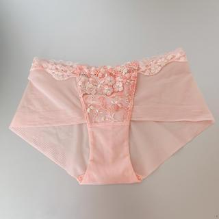 Wacoal - ワコール ピンク ヒップハングショーツ Lサイズ