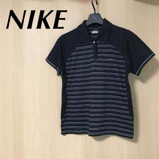 ナイキ(NIKE)のNIKE ナイキ レディース M 半袖 ポロシャツ DRYFIT トップス(ポロシャツ)