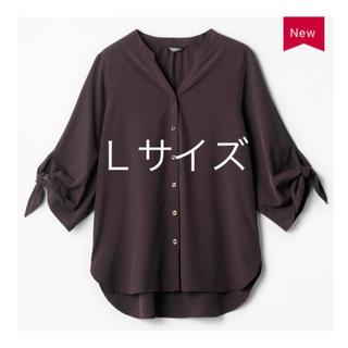 しまむら - MUMU 袖リボンバンドカラーシャツ しまむら