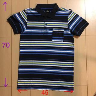 アディダス(adidas)のadidas アディダス ポロシャツ サイズS 150センチ相当(Tシャツ/カットソー)