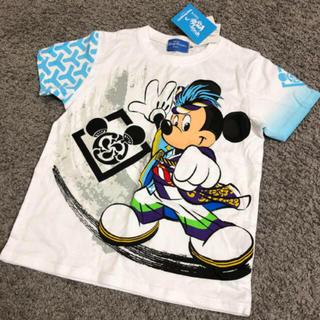 Disney - ディズニー☆2016 夏祭り☆Tシャツ☆120☆ミッキー☆オリエンタルランド