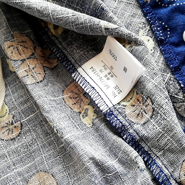 甚平ロンパース 70 キッズ/ベビー/マタニティのベビー服(~85cm)(甚平/浴衣)の商品写真