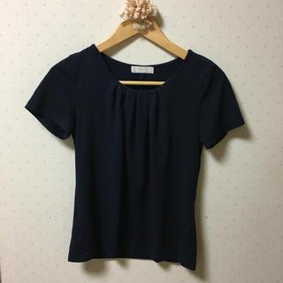 エニィスィス(anySiS)のトップス 半袖 Tシャツ 黒(Tシャツ(半袖/袖なし))