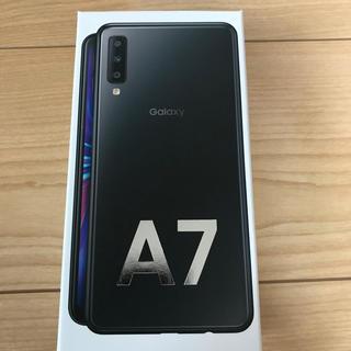Galaxy - Galaxy A7 ブラック