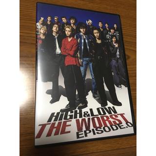 エグザイル トライブ(EXILE TRIBE)のHIGH &LOW THE WORST DVD(男性タレント)