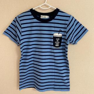 ベベ(BeBe)のべべ ボーダー Tシャツ(Tシャツ/カットソー)