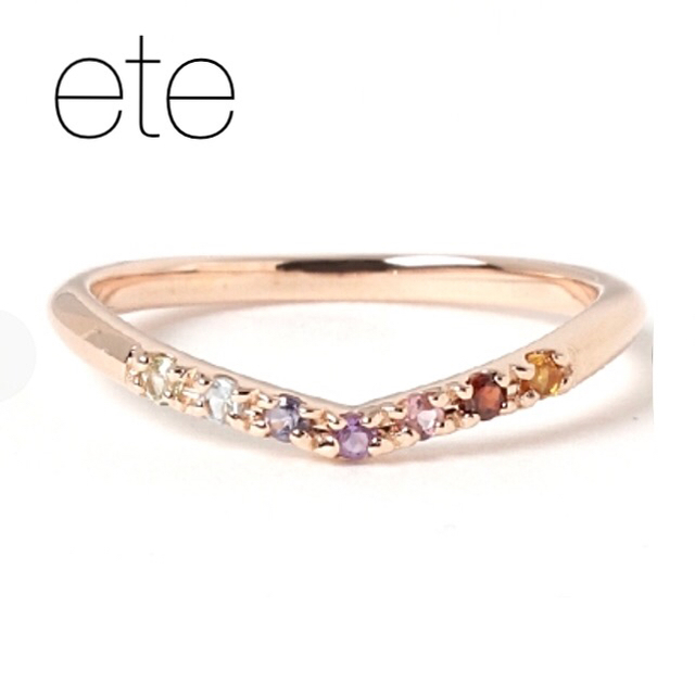 ete(エテ)の【ete】K10YG フォーチュンピンキーリング/アミュレット レディースのアクセサリー(リング(指輪))の商品写真