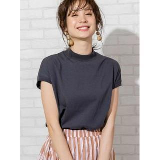 UNITED ARROWS - 【復刻・WEB限定カラー】USAコットンハイネックTシャツ モックネック