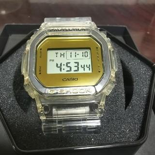 ジーショック(G-SHOCK)のG-SHOCK DW-5600bb カスタム スピード スケルトン ゴールド(腕時計(デジタル))
