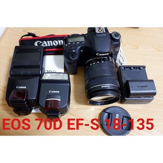 Canon - 【良品】CANON EOS 70D EF-S 18-135 IS STM
