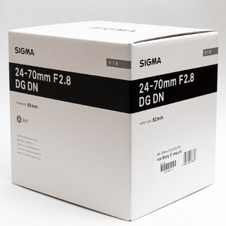 シグマ(SIGMA)の[新品即決]SIGMA 24-70mm F2.8 DG DN Eマウント用(レンズ(ズーム))