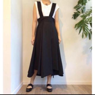 ENFOLD - ENFOLD 18SS ソフトツイストCO ジャンパースカート 36 ☆美品☆