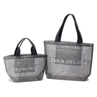 ディーンアンドデルーカ(DEAN & DELUCA)の新品・未使用 DEAN&DELUCA メッシュトートバッグ S・L 2個セット(トートバッグ)