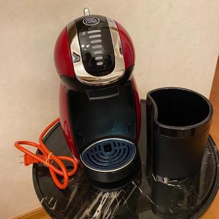 ネスレ(Nestle)のネスカフェ ドルチェグスト ジェニオ2 プレミアム ワインレッド MD9771(エスプレッソマシン)