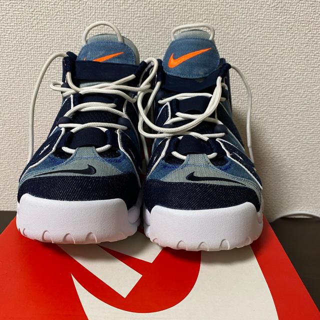 NIKE(ナイキ)のNIKE AIR MORE UPTEMPO DENIM (30分限定価格) メンズの靴/シューズ(スニーカー)の商品写真