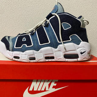 NIKE - NIKE AIR MORE UPTEMPO DENIM 27.5cm