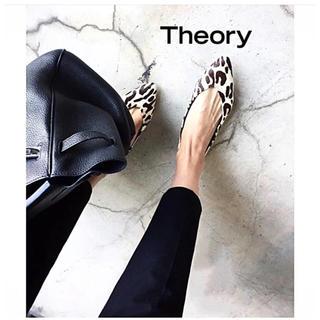theory - 人気 完売 theory 定価30240円 ストレッチ スキニーパンツ 黒